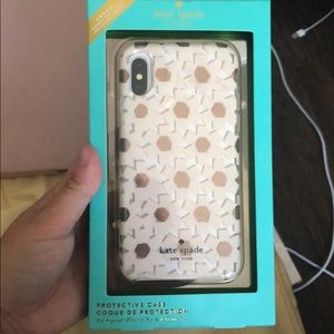 Kate Spade iPhone X Case (Floral)